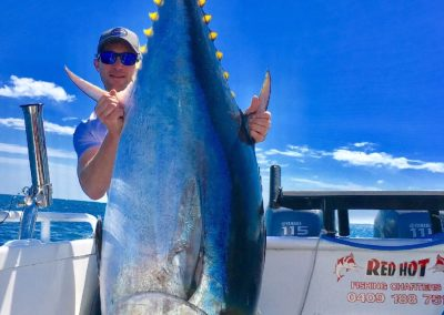 Simon and his Tuna